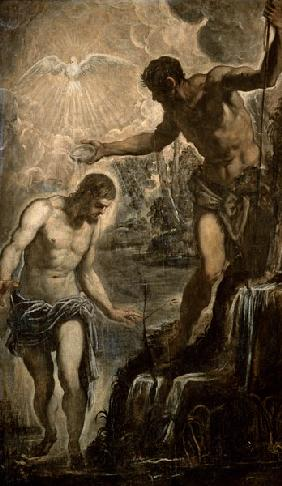 Tintoretto / Baptism of Christ