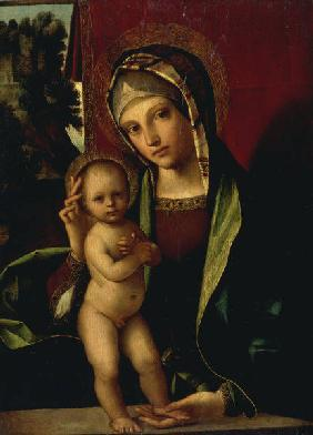Mary with the Child / Boccaccino