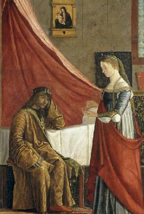 Carpaccio / Arrival..., King with Ursula