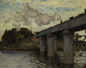 C.Monet / Railway bridge Argenteuil/1873