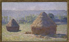 C.Monet / Haystack / Late summer