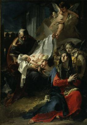 Adoration of the Child / Tiepolo / 1732