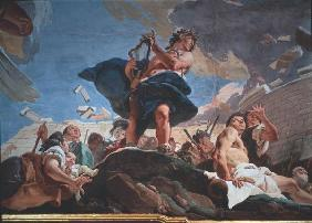 Tiepolo / Apollo builds Troy / c.1750