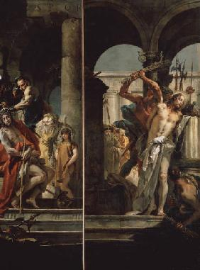 Crown of Thorns & Flagellation / Tiepolo