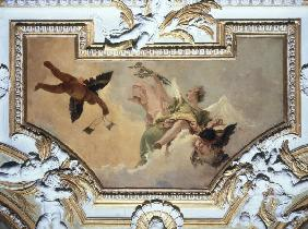 G.B.Tiepolo / Angel w.Lily / Paint./ C18