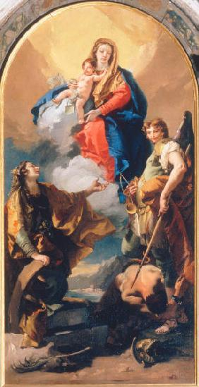 Mary, Child & Saints / Tiepolo