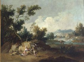 G.Zais /Landscape with Hagar and Ismael