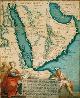 Map of Arabia / 1540/1761