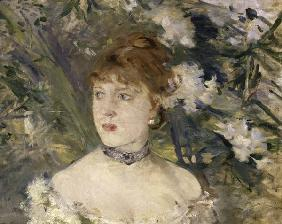 Morisot / Young lady in ballgown / 1879