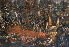Naval Battle of Lepanto 1571 / Vicentino