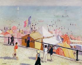 Summer, the Beach at Sables dOlonne