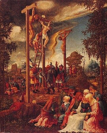 Crucifixion Albrecht Altdorfer As Art Print Or Hand