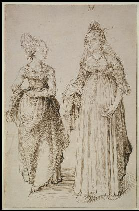 A Lady from Nuremberg and a Lady from Venice
