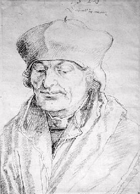 Portrait of Desiderius Erasmus (1469-1536) 1520