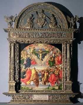 The Landauer Altarpiece, All Saints Day
