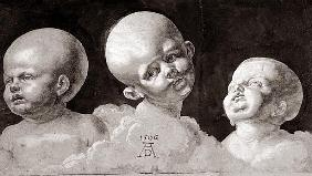 Three Heads of Children