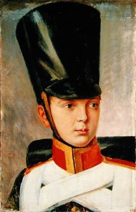 Portrait of Crown Prince Alexander Nikolayevich (1818-81)