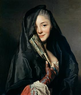Lady with veil