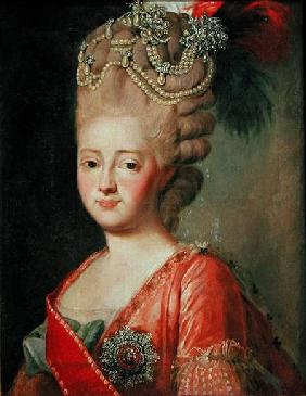 Portrait of Empress Maria Fyodorina (1759-1828)