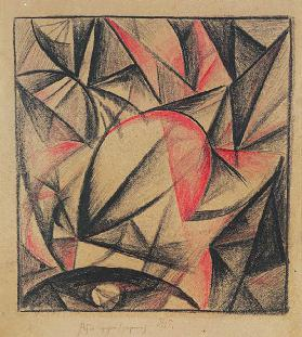 Untitled, 1915 (coloured chalks on paper)