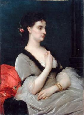 Portrait of Countess E.A. Vorontova-Dashkova