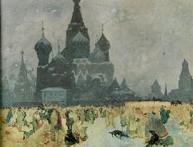 The Emancipation of the Russian Serfs (Study for The Slav Epic)