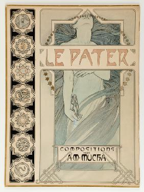 Cover Design for the illustrated edition Le Pater