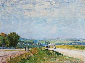 The Road to Montbuisson at Louveciennes