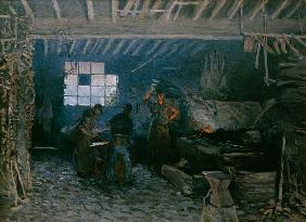 The smithy at Marly-Le Roi