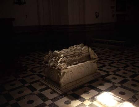 Tomb of Cardenal Tavera in the Church of - Alonso de Berruguete as art print ...