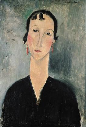 Woman with Earrings