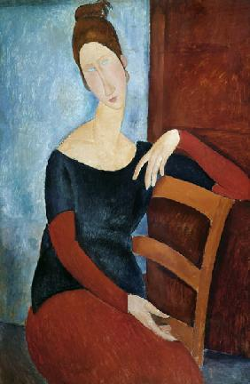 The Artist''s Wife (Jeanne Huberterne) 1918