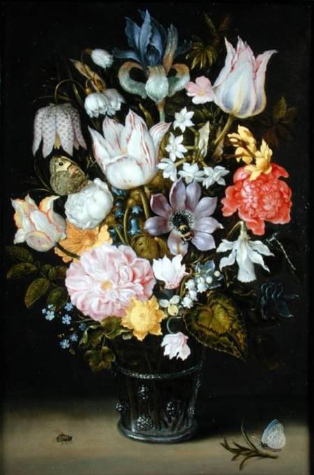 Still Life With Flowers Ambrosius Bosschaert As Art