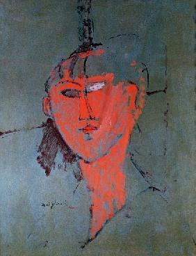 The Red Head, c.1915