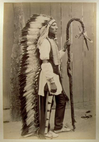 Portrait of a Native American from ''Buf - American Photographer ...