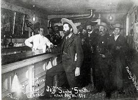 ''Soapy'' Smith''s Saloon Bar at Skagway, Alaska