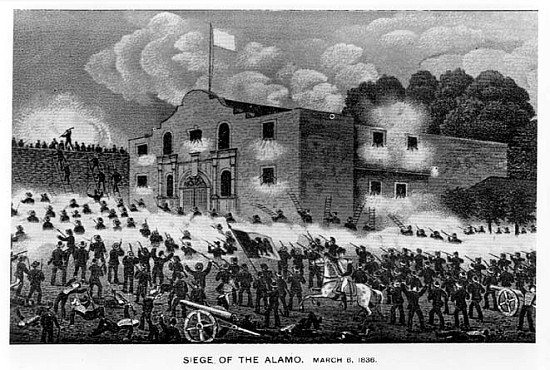 What was the reason for the battle of the alamo?