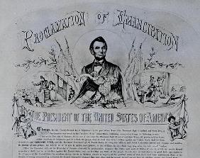 Proclamation of Emancipation Abraham Lincoln, 22nd September 1862