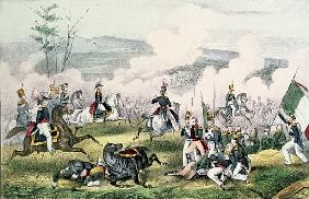 The Battle of Palo Alto, California, 8th May 1846