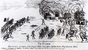 The Retreat, published 1775