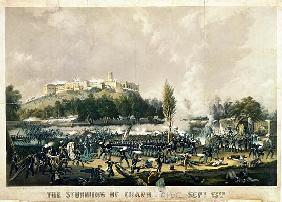 The Storming of Chapultepec, 13th September 1847