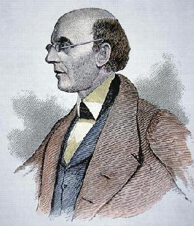 William Lloyd Garrison (1805-79) (coloured engraving)