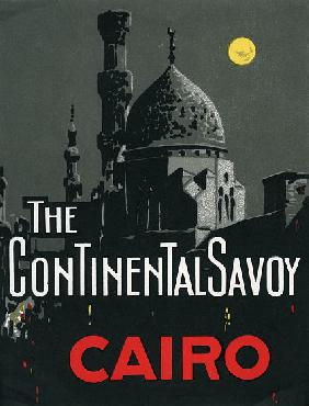 Continental Savoy Hotel in Cairo with Mosque
