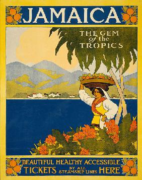 Jamaica Travel Poster
