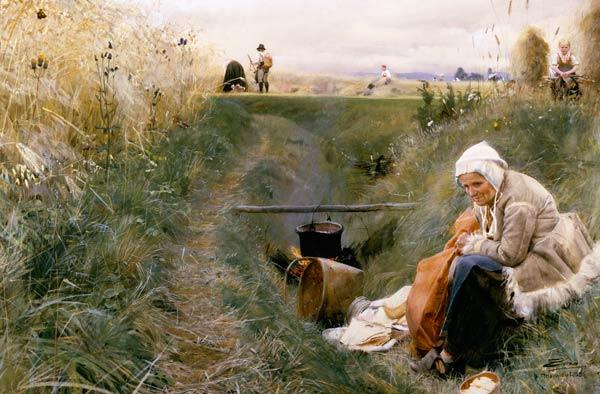 Anders Zorn / Our Daily Bread / 1886