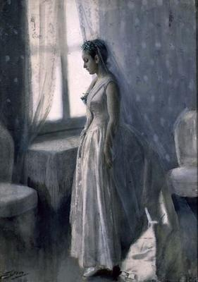 The Bride, 1886 (w/c on paper)