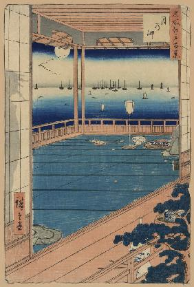 Moonlight (One Hundred Famous Views of Edo)