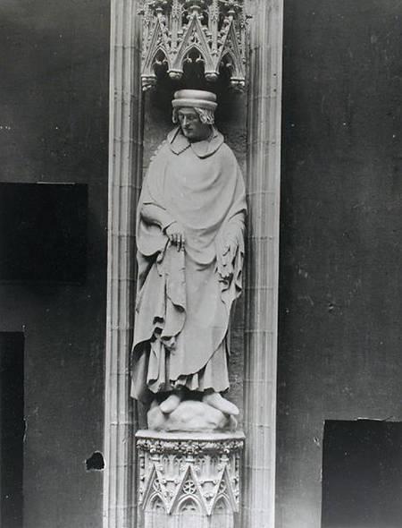 Copy Of A Statue Of Jean Bureau Sire De Andre Beauneveu