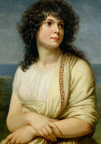 Andrea Appiani - Madame Hamelin Detail