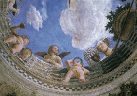 Impression rising sun oil painting of claude monet as for Stanza degli sposi mantova